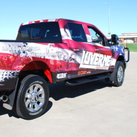 Luverne Step Bars and Running Boards